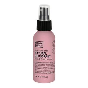 Noosa Basics Natural Spray Deodorant - Rose & Frankincense 100ml