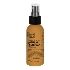 Noosa Basics Natural Spray Deodorant - Sandalwood 100ml