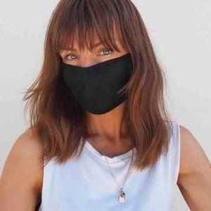 Fruity Sacks Reusable Black Face Mask - Adult