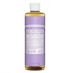 Dr Bronner's Pure Castile Liquid Soap - Lavender 473ml