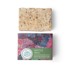 Australian Natural Soap Company Wattle Seed Soap with box