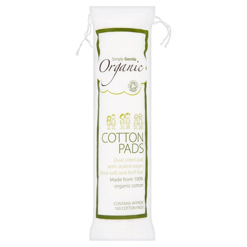 Simply Gentle Organic Cotton Cosmetic Pads