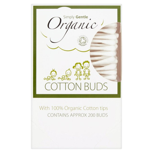 Simply Gentle Organic Cotton Buds - 200 pack