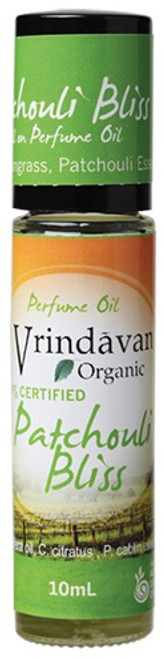 Vrindavan Roll On Organic Perfume Oil - Patchouli Bliss