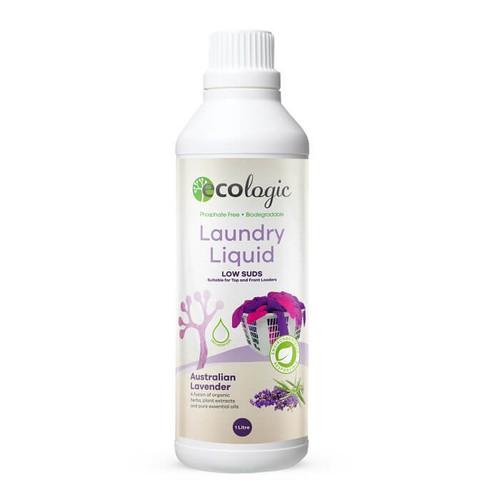 Ecologic Laundry Liquid - Australian Lavender 1L