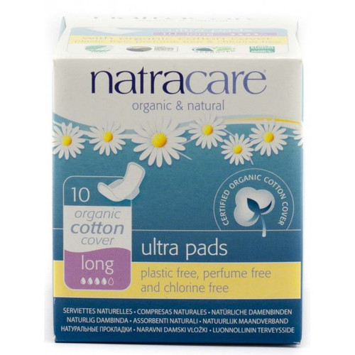 Natracare Long Ultra Pads with Wings