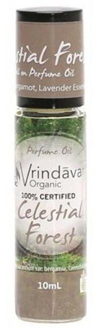 Vrindavan Roll On Organic Perfume Oil - Celestial Forest