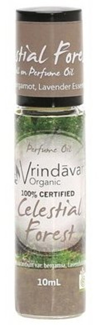 Vrindavan Roll On Organic Perfume Oil - Celestial Forest
