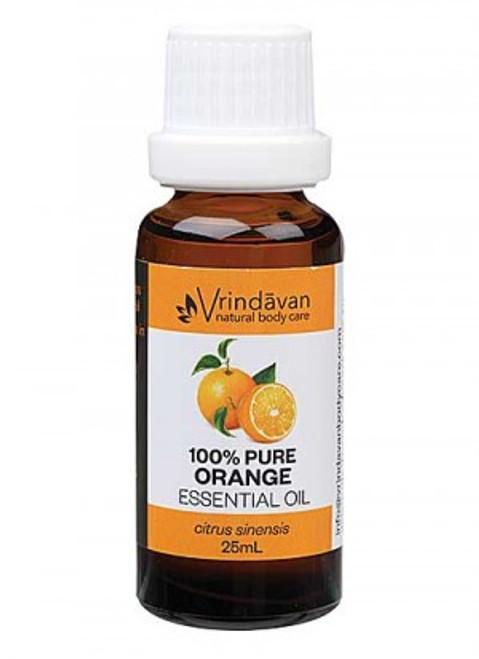 Vrindavan 100% Pure Orange Essential Oil 25ml