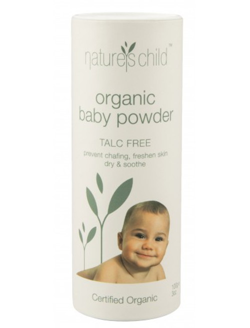 Nature's Child Organic Baby Powder - Talc Free 100g