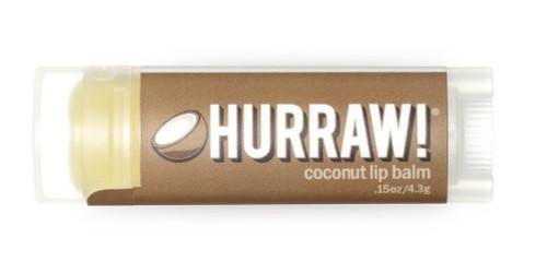 Hurraw! Organic Lip Balm in Coconut flavour