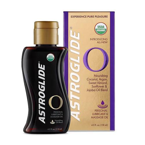 Astroglide Certified Organic Personal Lubricant & Massage Oil 118ml