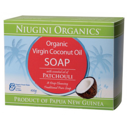 Niugini Organics Virgin Coconut Oil Soap - Patchouli