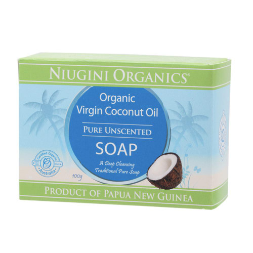 Niugini Organics Virgin Coconut Oil Soap - Unscented