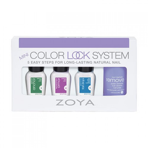 Zoya Mini Color Lock System - 4 Piece