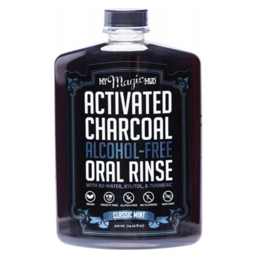 My Magic Mud Activated Charcoal Oral Rinse - Classic Mint