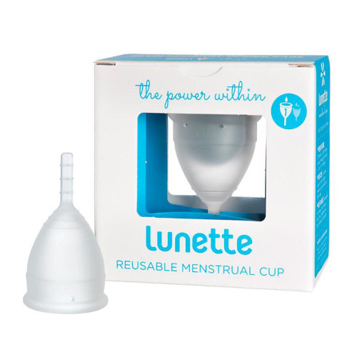 Lunette Reusable Menstrual Cup - Model 1 - Clear