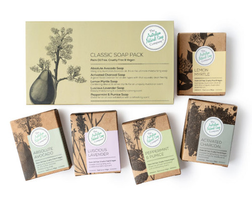 Australian Natural Soap Company Classic Soap Pack