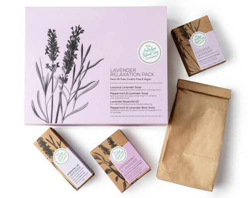 Australian Natural Soap Company Lavender Relaxation Pack