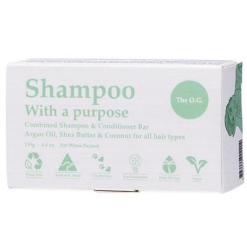 Shampoo With a Purpose Shampoo & Conditioner Bar - The O.G.
