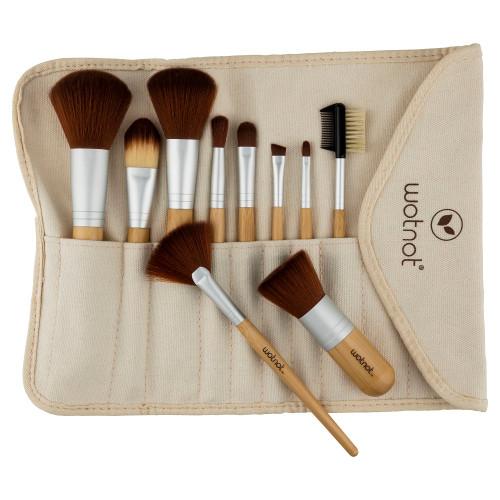 Wotnot Vegan Makeup Brush Set - 10 Piece