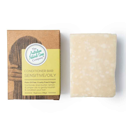 Australian Natural Soap Company Conditioner Bar - Sensitive/Oily Hair