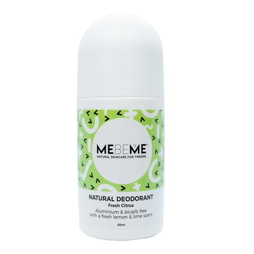 MEBEME Natural Deodorant - Fresh Citrus 50ml