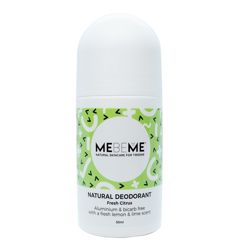 MEBEME Natural Deodorant - Fresh Citrus 50ml