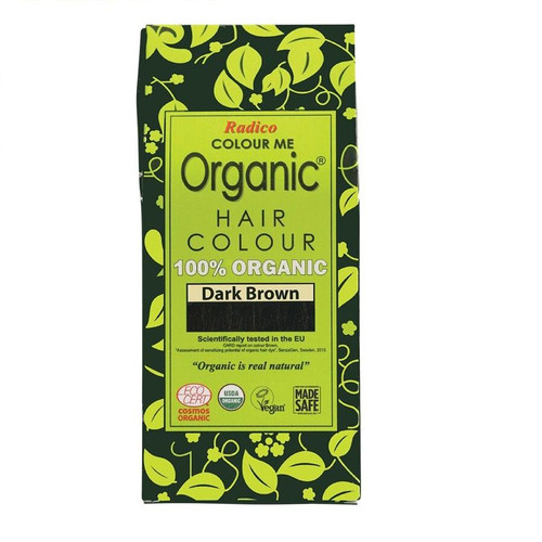 Radico Colour Me Organic Hair Colour - Dark Brown 100g