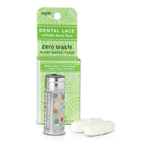 Dental Lace Refillable Dental Floss - Vegan 60m