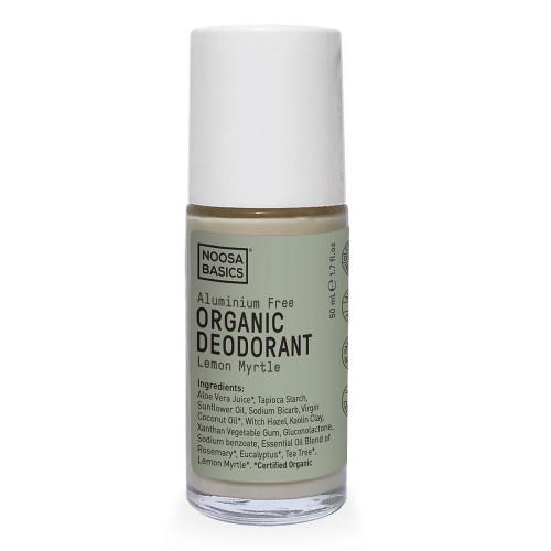 Noosa Basics Roll On Organic Deodorant - Lemon Myrtle 50ml