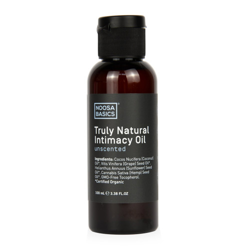 Noosa Basics Truly Natural Intimacy Oil - Unscented 100ml