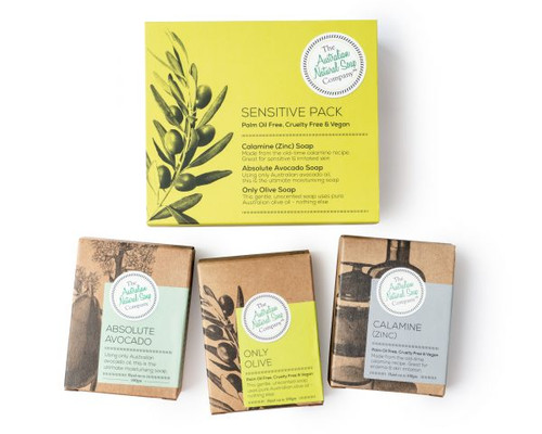 Australian Natural Soap Company Sensitive Pack