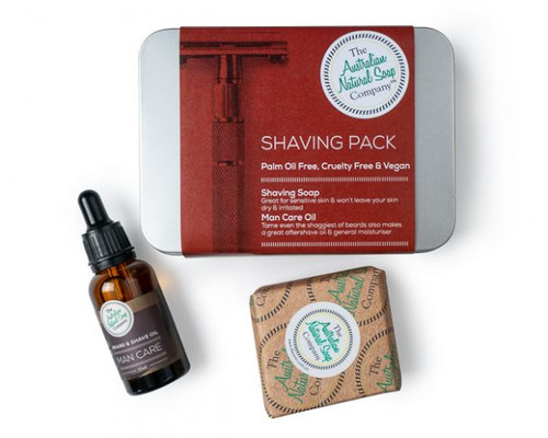 Australian Natural Soap Company Shaving Pack