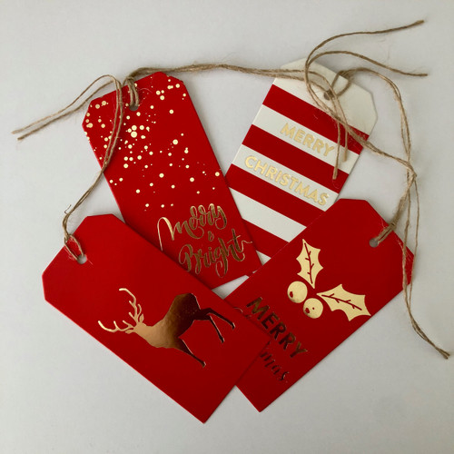 Naturally Safe Cosmetics Christmas Gift Tag