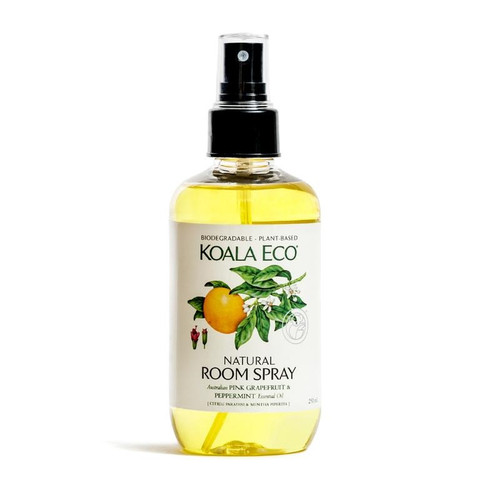 Koala Eco Natural Room Spray - Pink Grapefruit & Peppermint 250ml