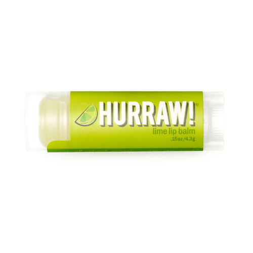 Hurraw! Organic Lip Balm - Lime 4.8g
