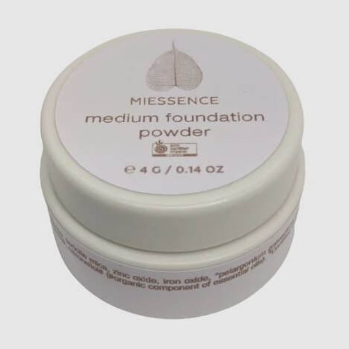 Miessence Mineral Foundation Powder - Medium 4g