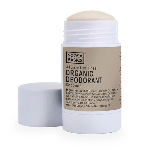 Noosa Basics Organic Deodorant Stick - Coconut 60g