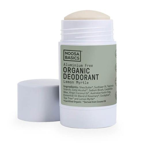 Noosa Basics Organic Deodorant Stick - Lemon Myrtle 60g