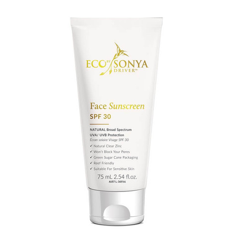 Eco By Sonya Face Sunscreen SPF30 75ml
