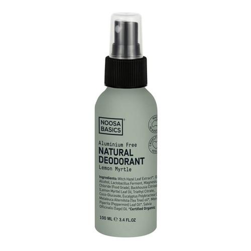Noosa Basics Natural Spray Deodorant - Lemon Myrtle 100ml