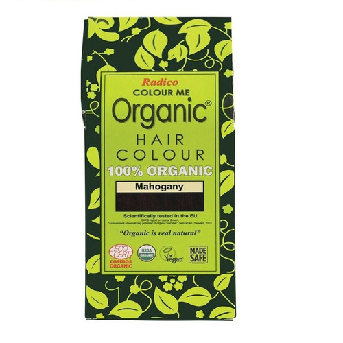 Radico Colour Me Organic Hair Colour - Mahogany 100g