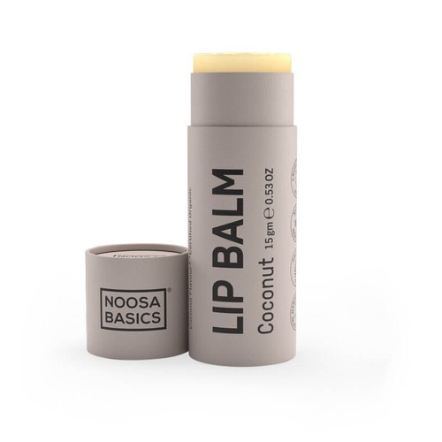 Noosa Basics Organic Lip Balm - Coconut 15g