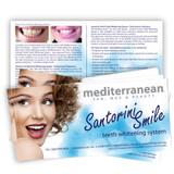 Santorini Smile™ Client Brochure - 25 Pack