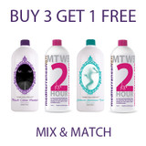 BUY ANY 3 Colourrush™ 10 MINUTE - INDUCTAFUZE®, MediterraneanTan® 1 HOUR Twilight Collection or MediterraneanTan® 2 HOUR - INDUCTAFUZE® Red - RBS® - Spray Tan 1 Litre Solutions GET 1 FREE