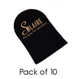 Tanning Mitt with logo - 10 Pack