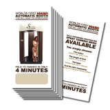 Solaire® Purely Automatic Booth Flyer 100pk