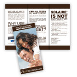 Solaire® - Teeth Whitening Brochure In Salon