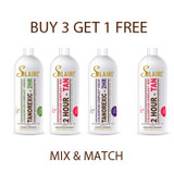 BUY ANY 3 Solaire® Dry Oil 10 Minute Solution, Tanorexic - 2 HR - COLOURFUZE COMPLEX® or Solaire® 2 HOUR - COLOURFUZE COMPLEX® Red - RBS® - GET 1 FREE